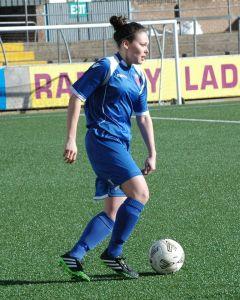 Sophie Milligan in pre-season2