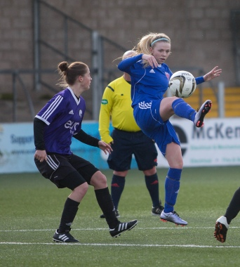 Forfar Farmington v Glasgow Girls - Pre-season friendly at Station Park