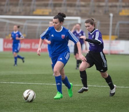 Forfar Farmington v Glasgow Girls - Pre-season friendly at Station Park